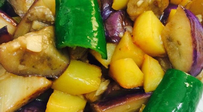 Stir-fried Three Vegetables