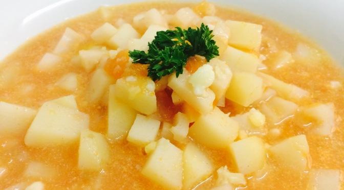 Tomato & Potato Soup