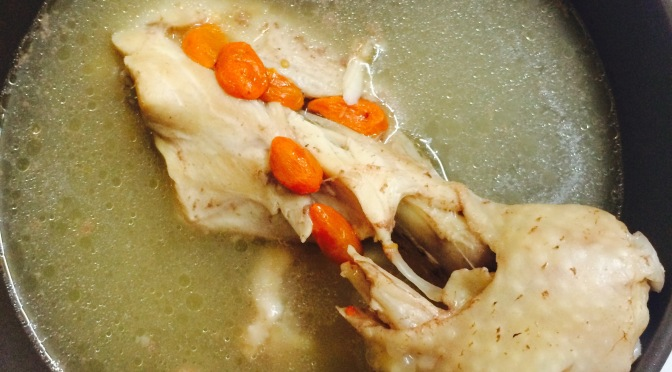 Easy Red Date Chicken Leg Soup