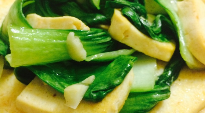 Stir Fry Bok Choy With Beancurd