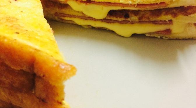 Cheese Ham Toast