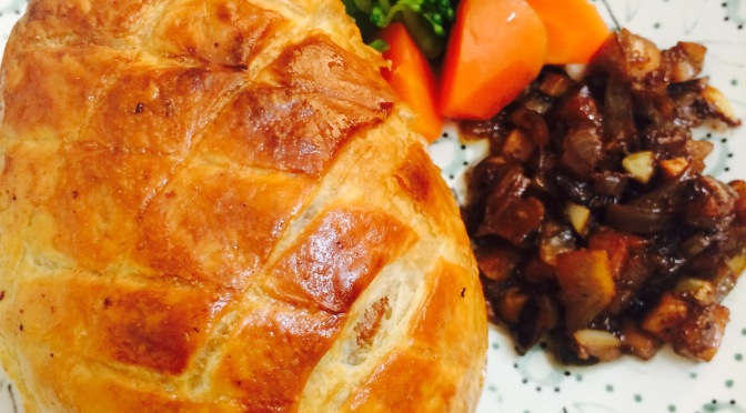 Easy Beef/Pork Wellington
