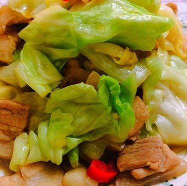 Stir Fry Cabbage With Pork