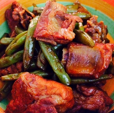 French Bean Rib Stew