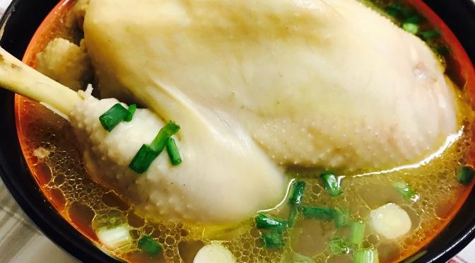Glutinous Rice Chicken Soup