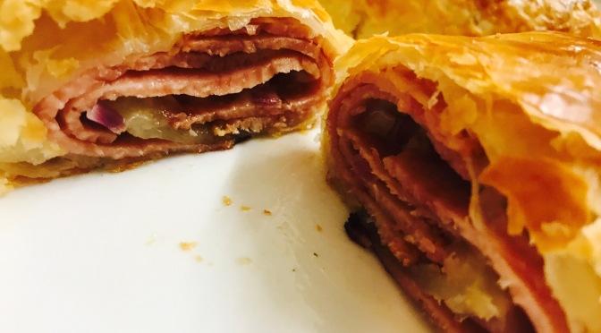 Cheesy Ham Rolls