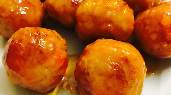 Sweet & Sour Chicken Meatball