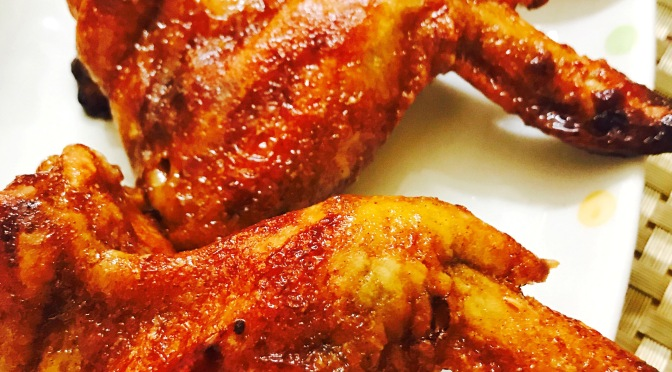 Baked Sauce Chicken Wings