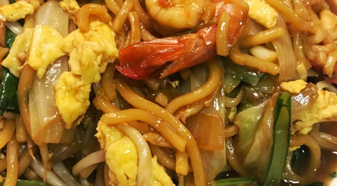 Stir-fry Prawn Hokkien Noodles