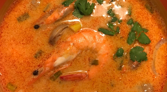 Tom Yam Gong Soup