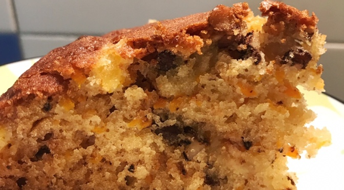 Carrot Cake ( with Pineapple & Walnut)