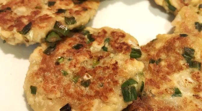 Shrimp & Tofu Patties
