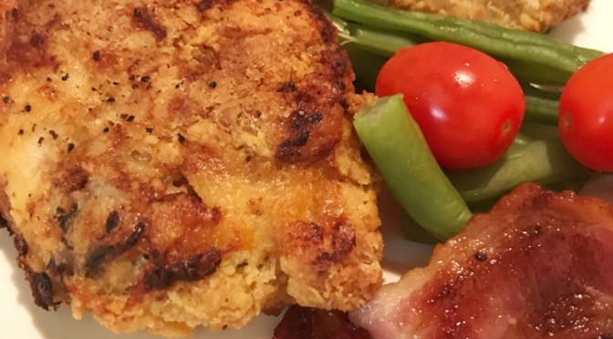 Crispy Herbs Chicken Thigh