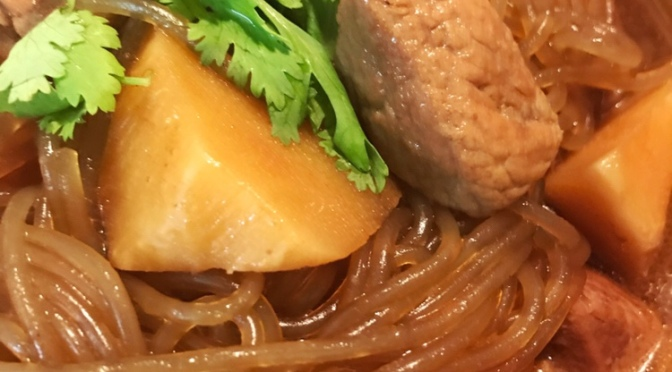 Braised Pork, Bamboo Shoot & Vermicelli