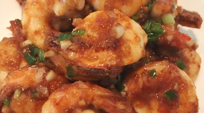 Ginger & Garlic Prawn Stir-Fry