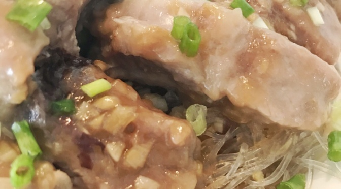 Steamed Ribs with Vermicelli