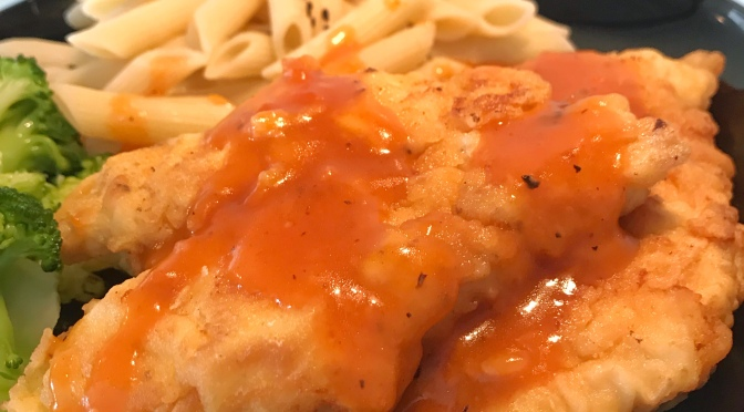Tomato Sauced Chicken Chop