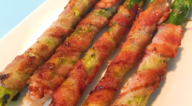 Bacon Asparagus Roll