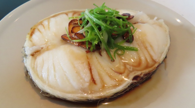 Steamed Cod Fish Fillet