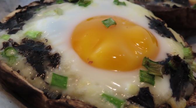 Egg Stuffed Mushroom