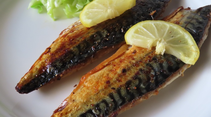 Oven-Roasted Saba Fish