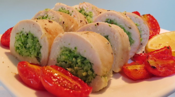 Chicken Breast Broccoli Roll