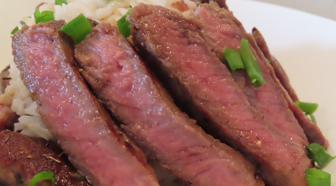 Beef Steak Rice