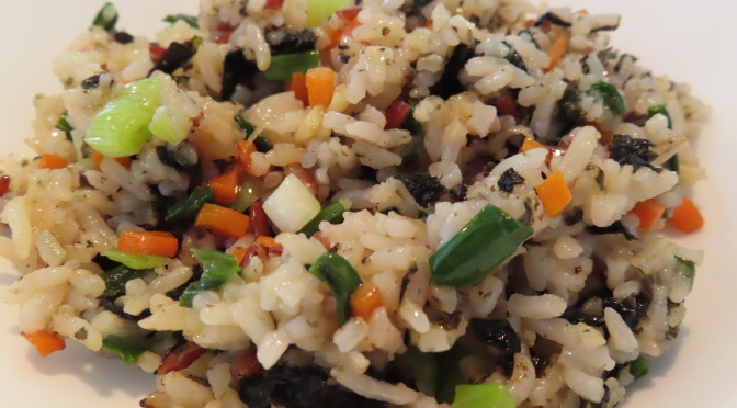 Seaweed Fried Rice