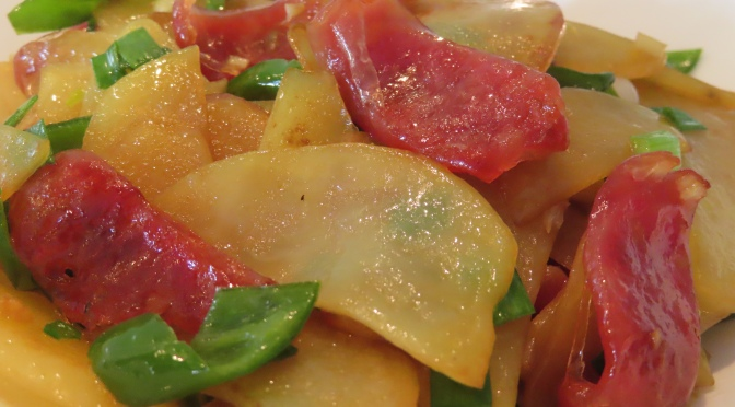 Potato & Sausage Stir-fry