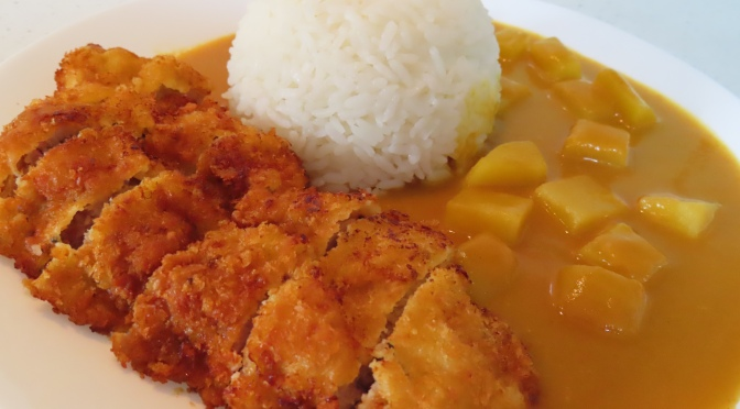 Curry Pork Chop Rice
