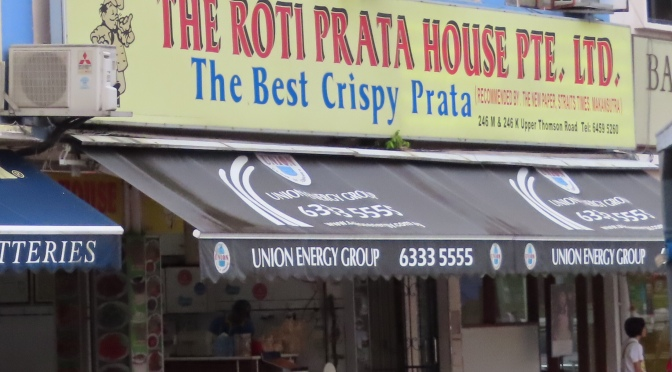 The Best Prata Shop So Far