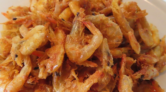 Fried Small Prawns