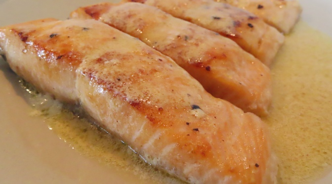 Lemon Butter Sauce Salmon