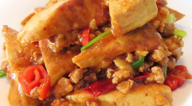 Minced Pork Tofu