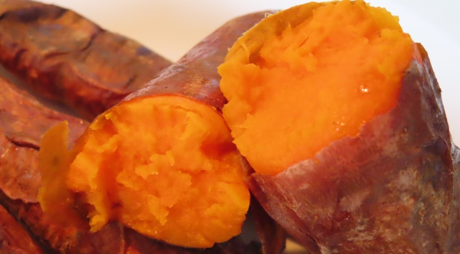Oven- roasted Sweet Potato