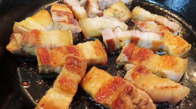 BBQ Pork Belly by Skillet