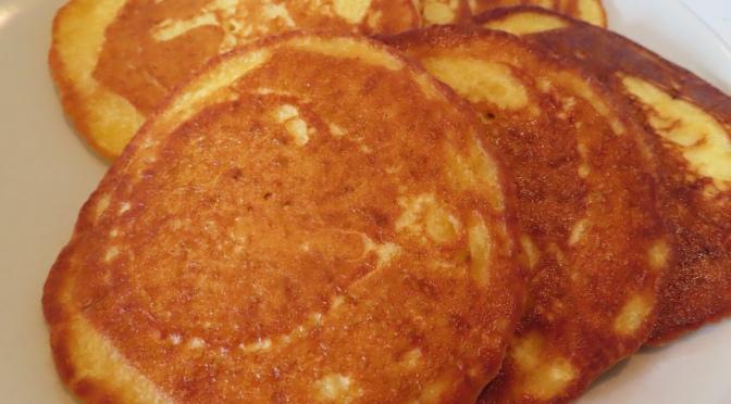Cornflour pancakes