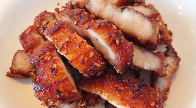 Crispy Fried Pork Belly