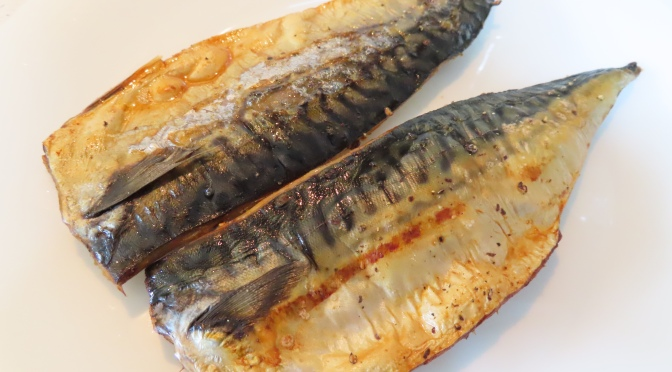 Simple Roasted Saba Fish