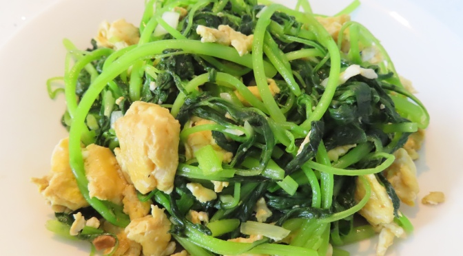 Scrambled Egg with Baby Spinach