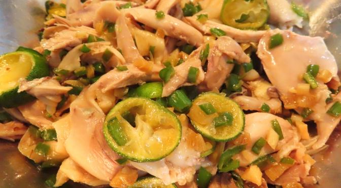 Lime Chicken Salad