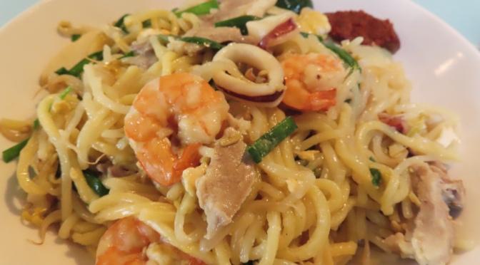 Hokkien Prawn Noodle (福建虾面)